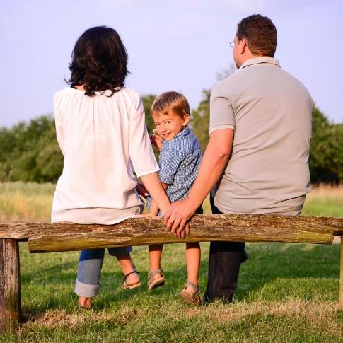 Familienfotos in der Natur, Butzbach, Taunus, Wetteraukreis