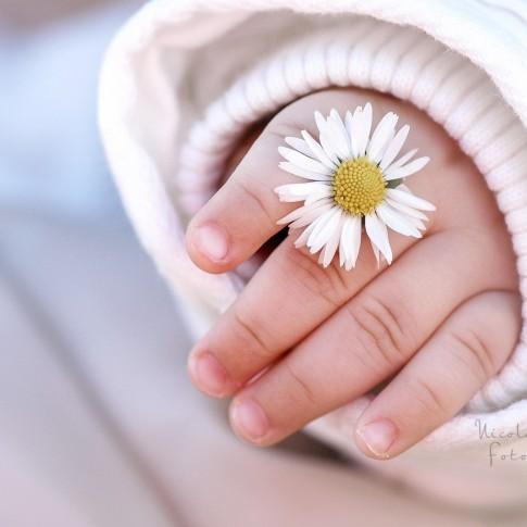 Frühlings Kinder Bilder, Babybilder im Frühling