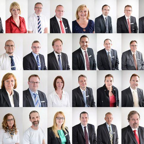 frankfurt am Main Team Fotos, Firmen Mitarbeiter Portraits