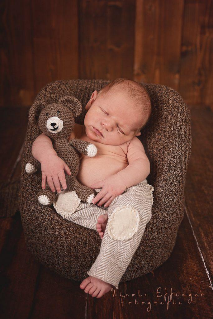 Neugeborenenshooting, Fotos von Newborn