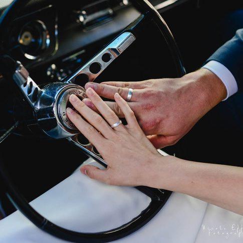 Brautauto Hochzeitsfotografie Butzbach